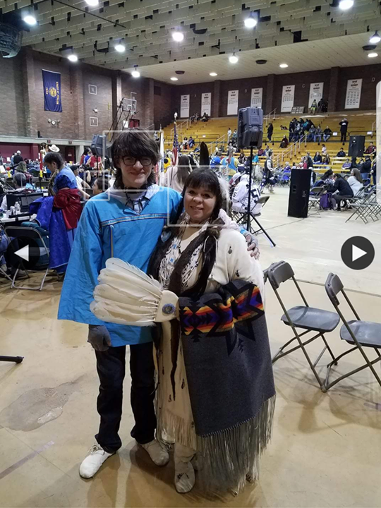 BOY and MOM - in powwow regalia.png