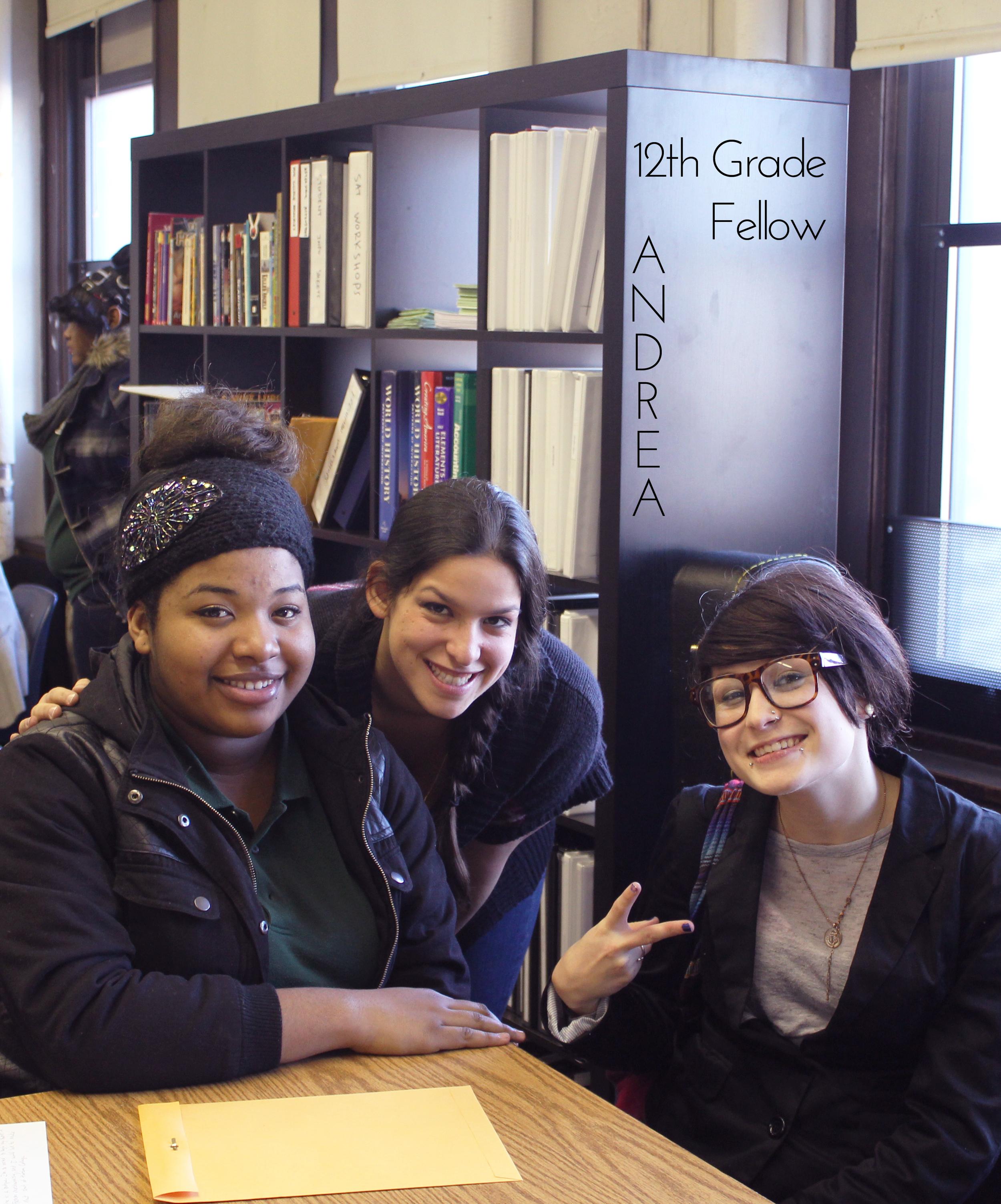 Meet our 12+ Grade Fellow Andrea!
