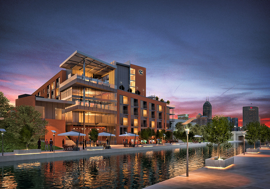 THE NEW 9 ON CANAL BUILDING WHERE QUILLS WILL CALL HOME