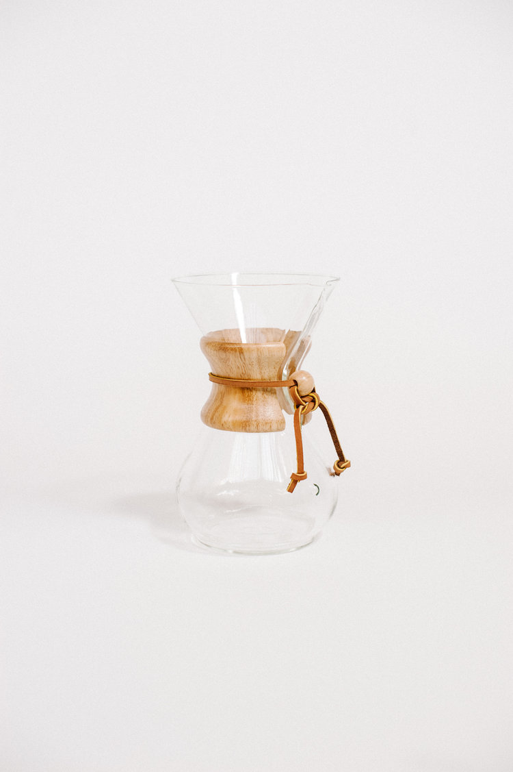 Chemex 6 Cup Woodneck Quills Coffee