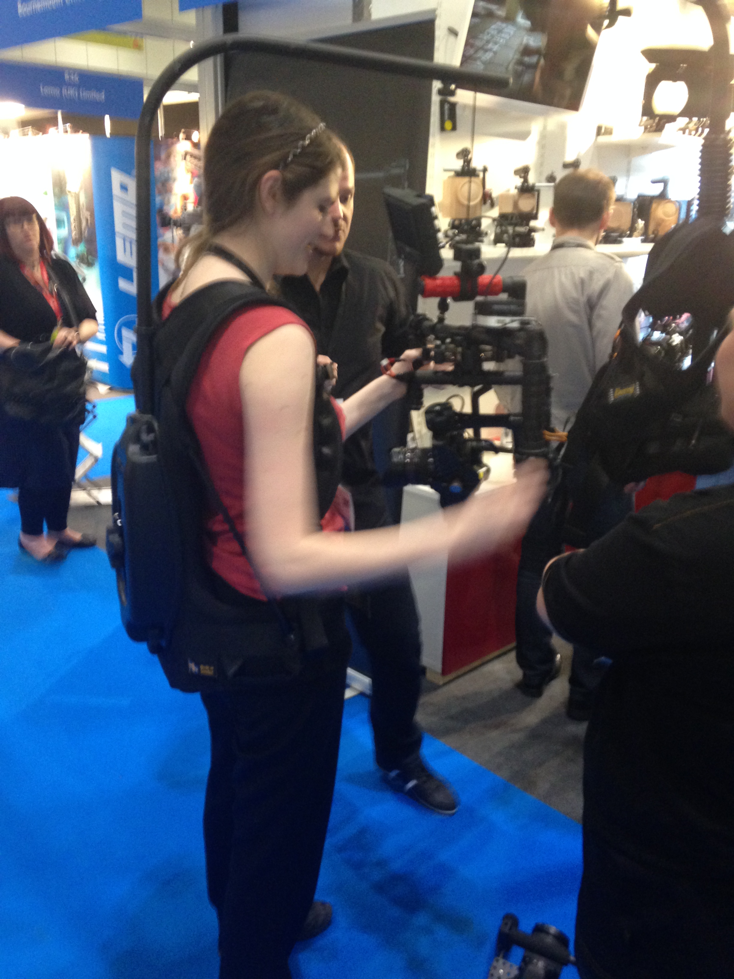 BeSteady with EasyRig - It had run out of battery I think...