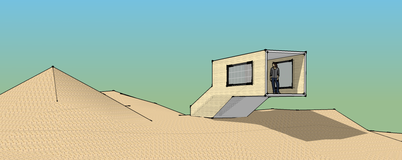 Leighton's first SketchUp house