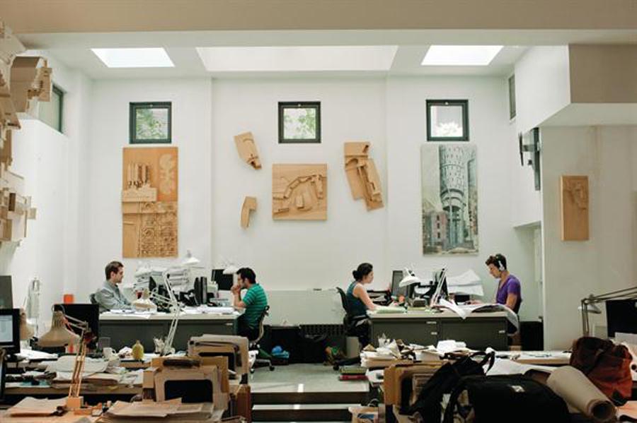 Tod Williams and Billie Tsien's architecture studio