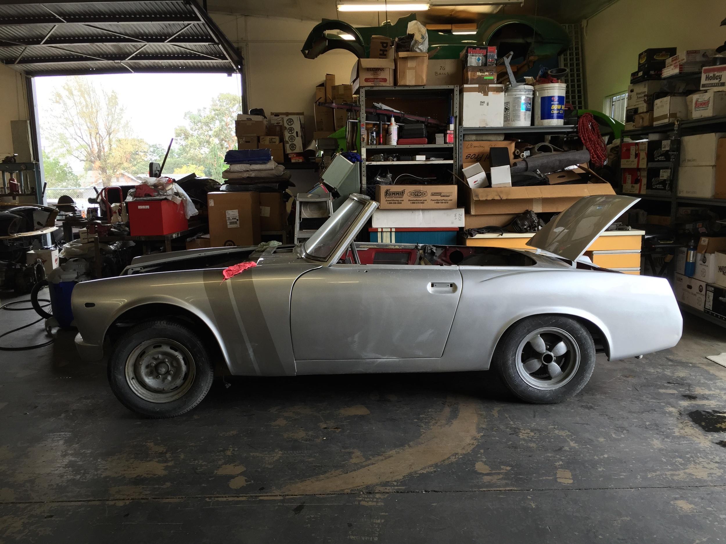 My '69 Datsun Roadster project
