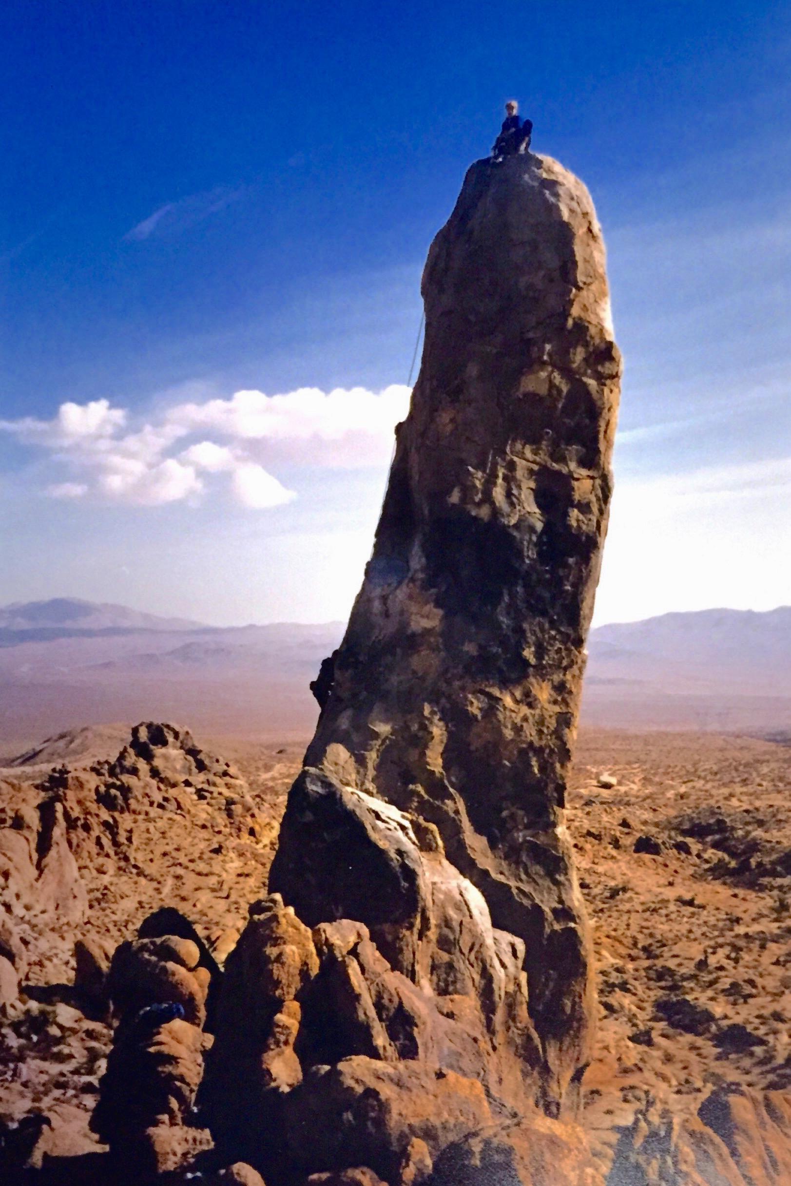 Climbing Hercules Finger