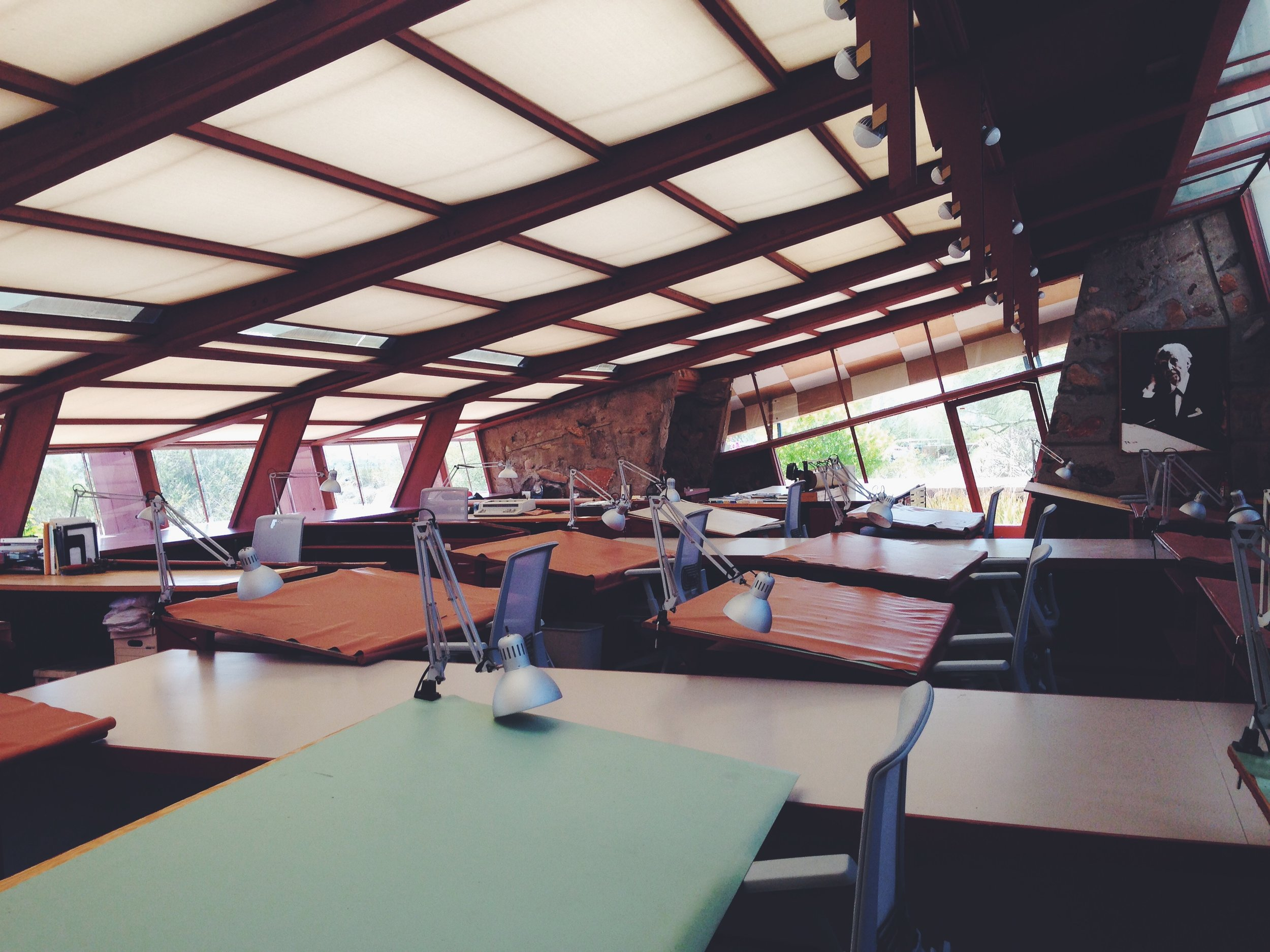 Taliesn West Drafting Room