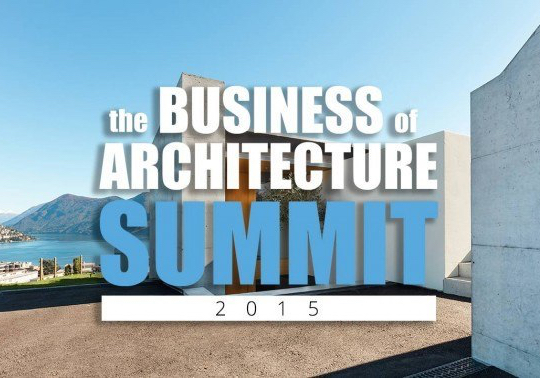 Held online October 29 and 30, 2015. Go to  businessofarchitecture.com/archispeak  to reserve your spot.