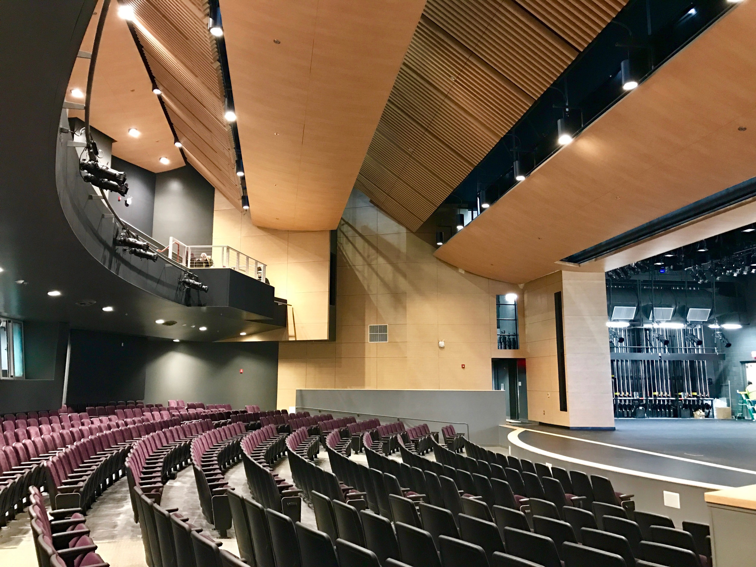 Portola High School Performing Arts Center - Photo Credit: Evan Troxel