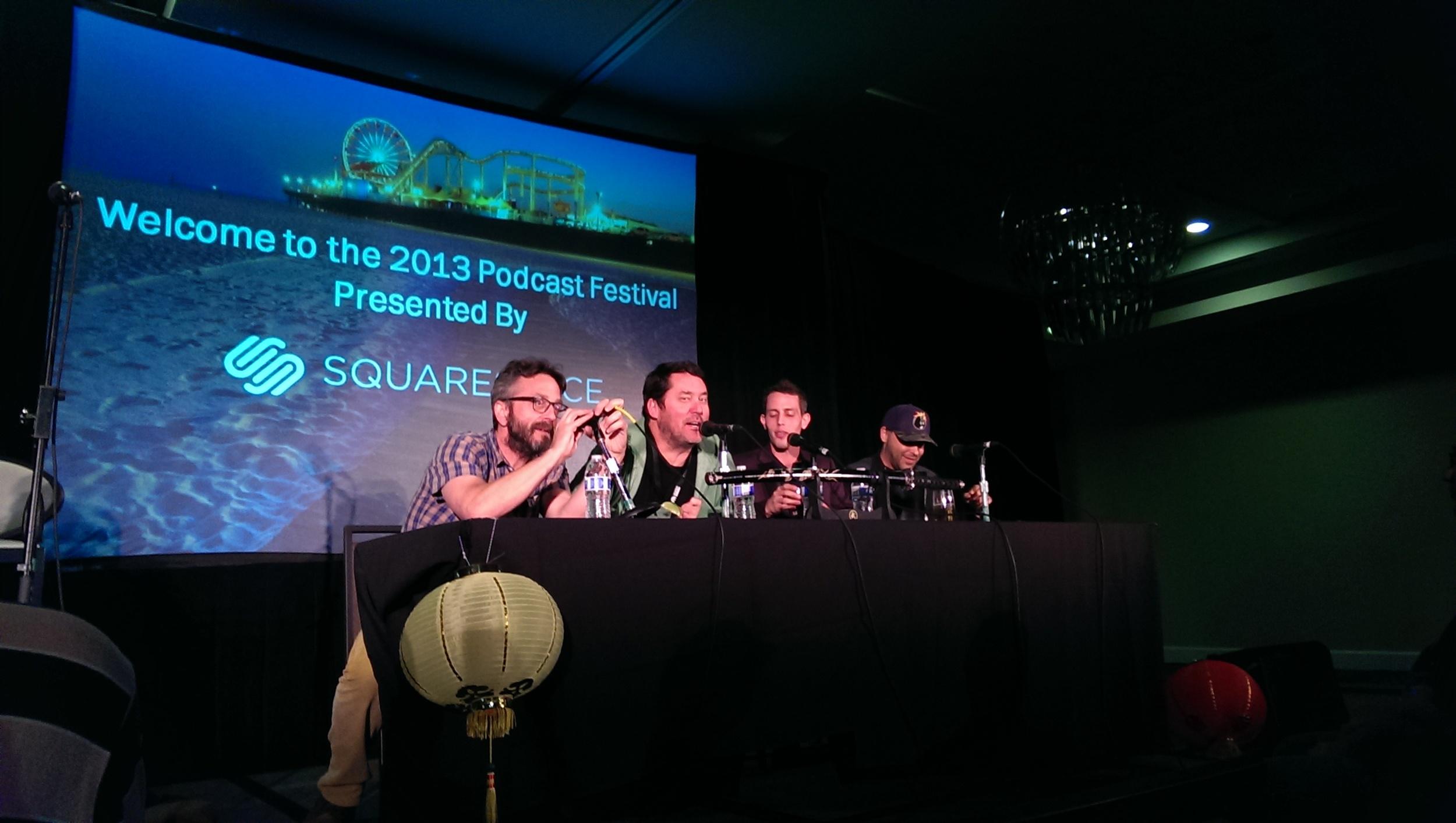 Marc Maron, Doug benson, Tony Hinchcliffe and Brian Redban on #KillTony