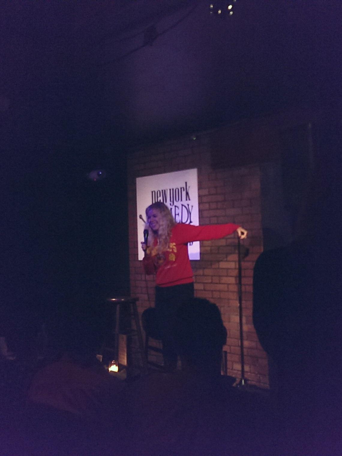 Blair Socci at NYCC