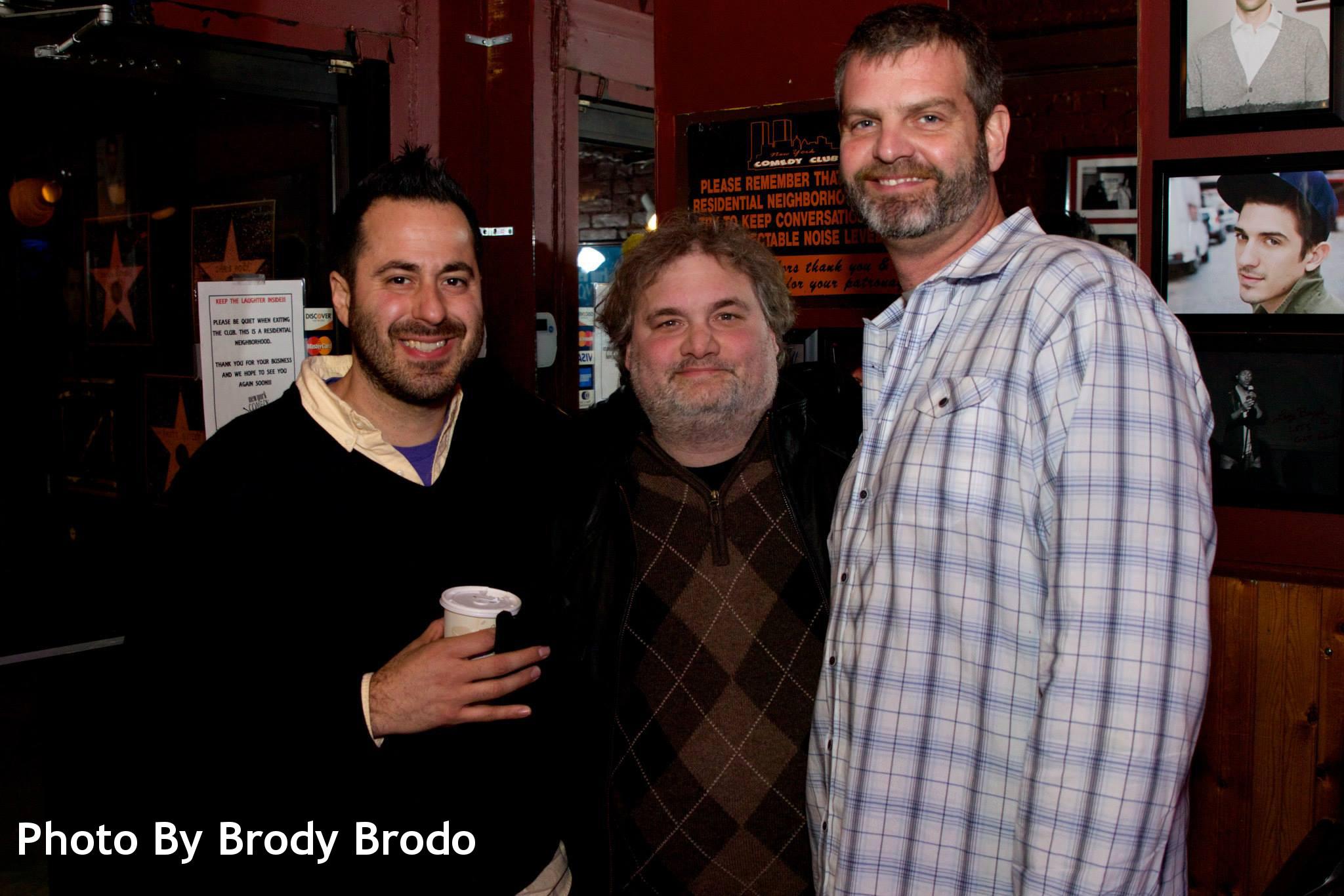 Emilio, Artie and Bronston