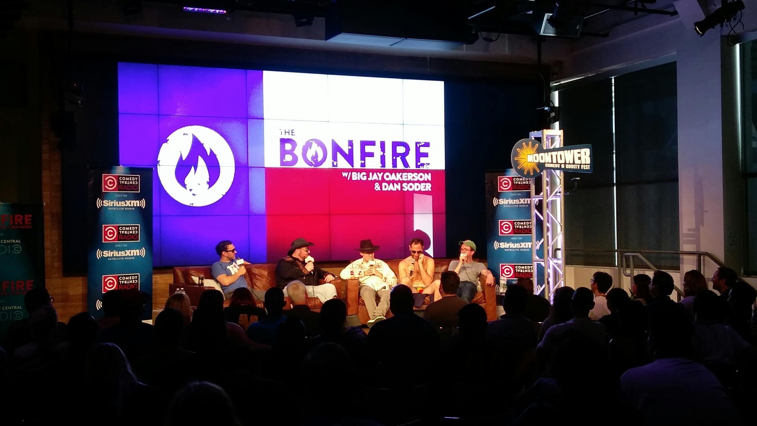 Sirius XM live taping of The Bonfire - Mark Normand, Jay Oakerson, Dan Soder, Ari Shaffir, Joe List