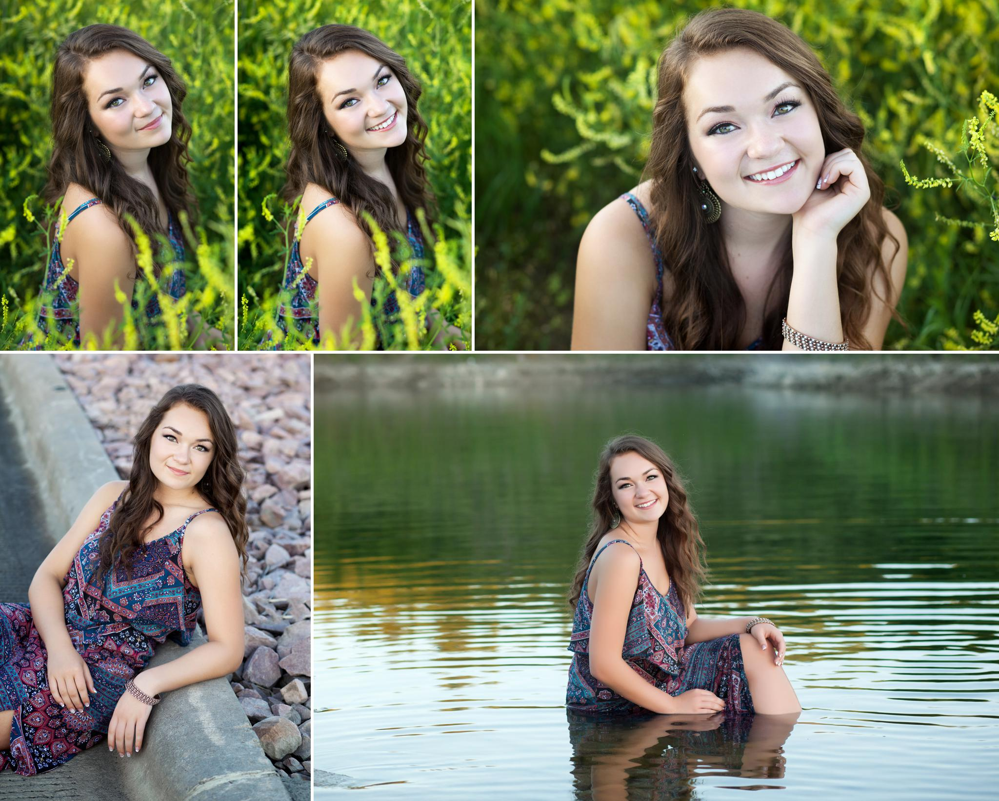 Bohemian Dress Country Senior Images by Katie Swatek Photography