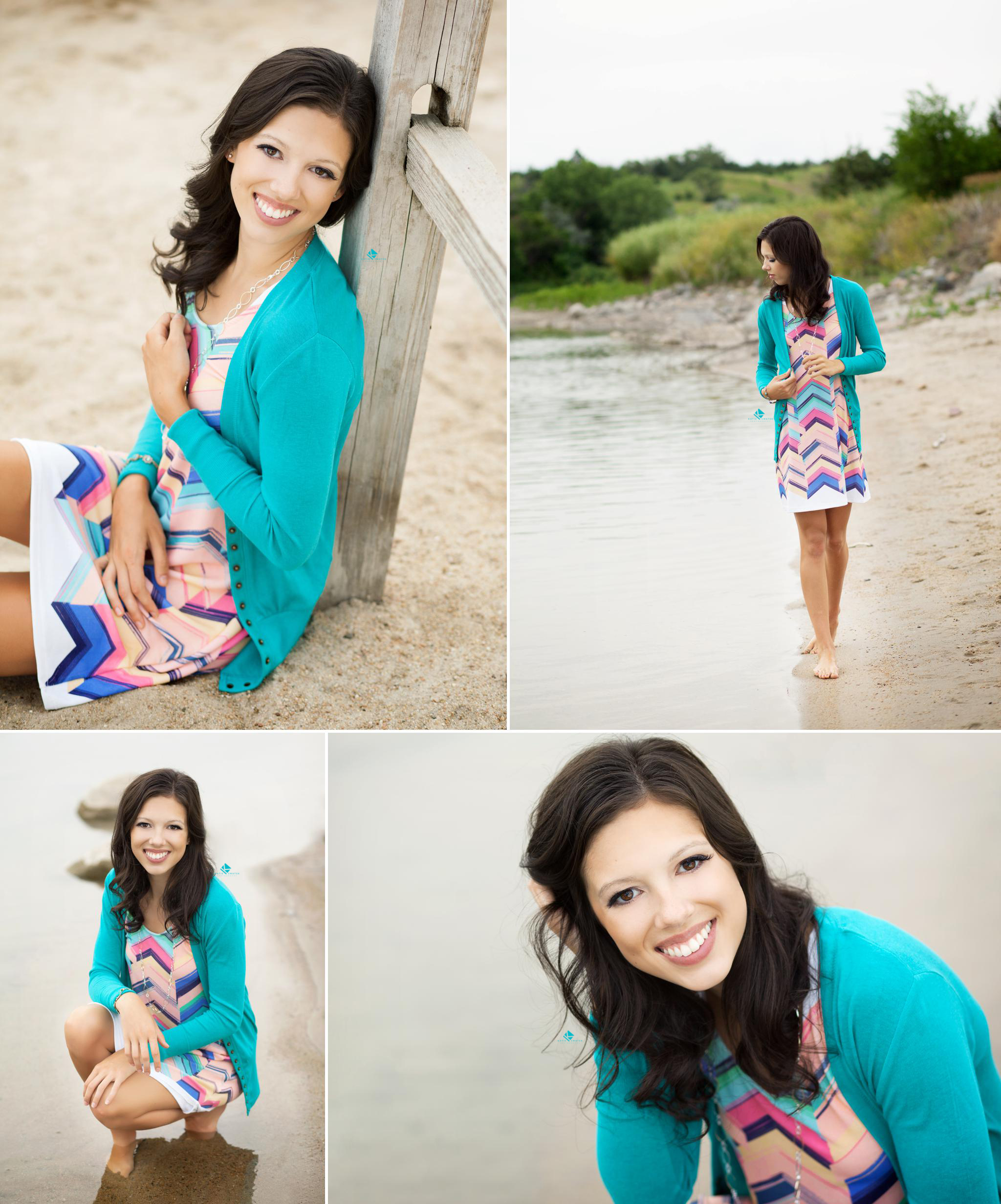Beach Senior by Katie Swatek Photography