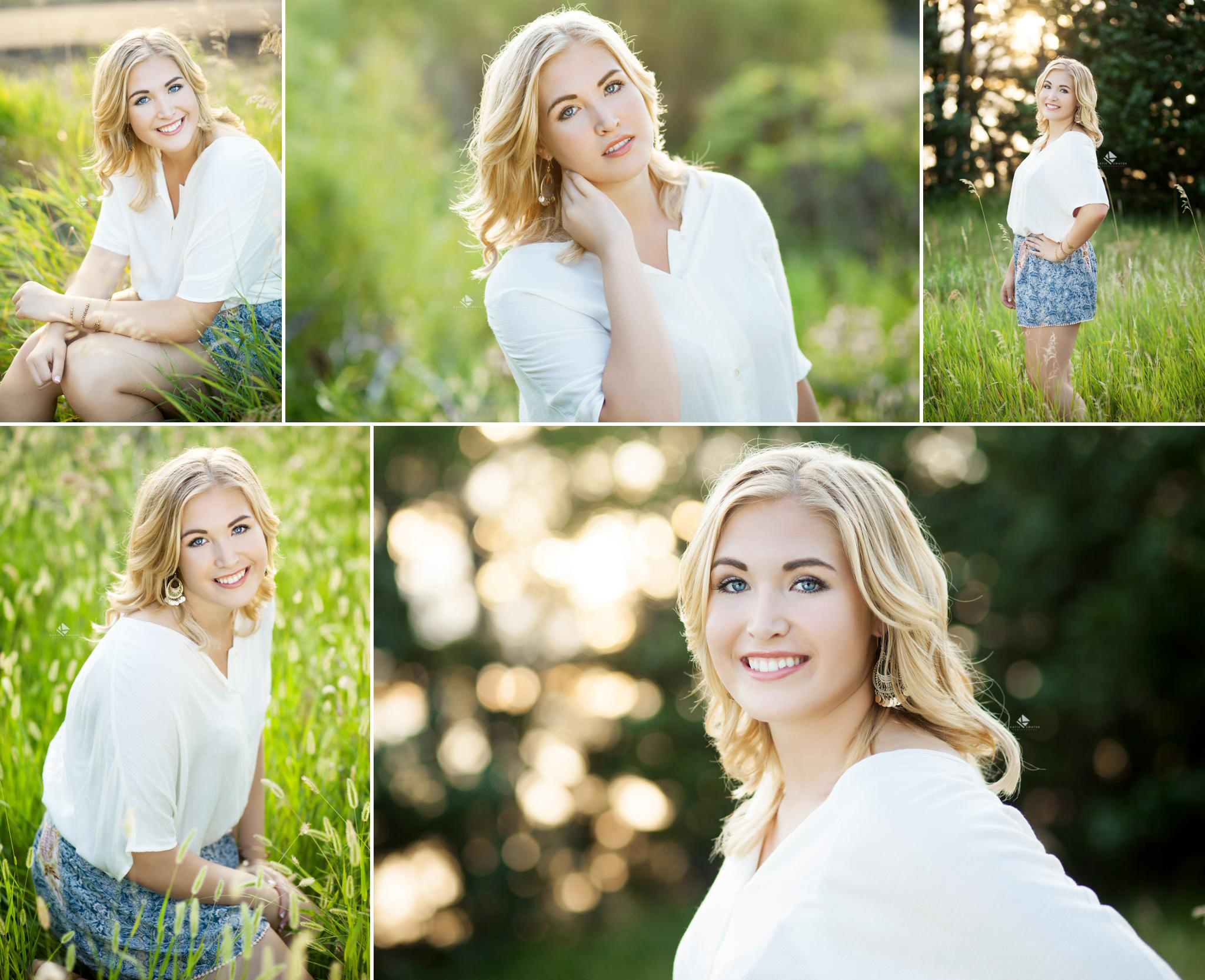 Country Senior by Katie Swatek Photography | Pretty Prep Images by Katie Swatek Photography