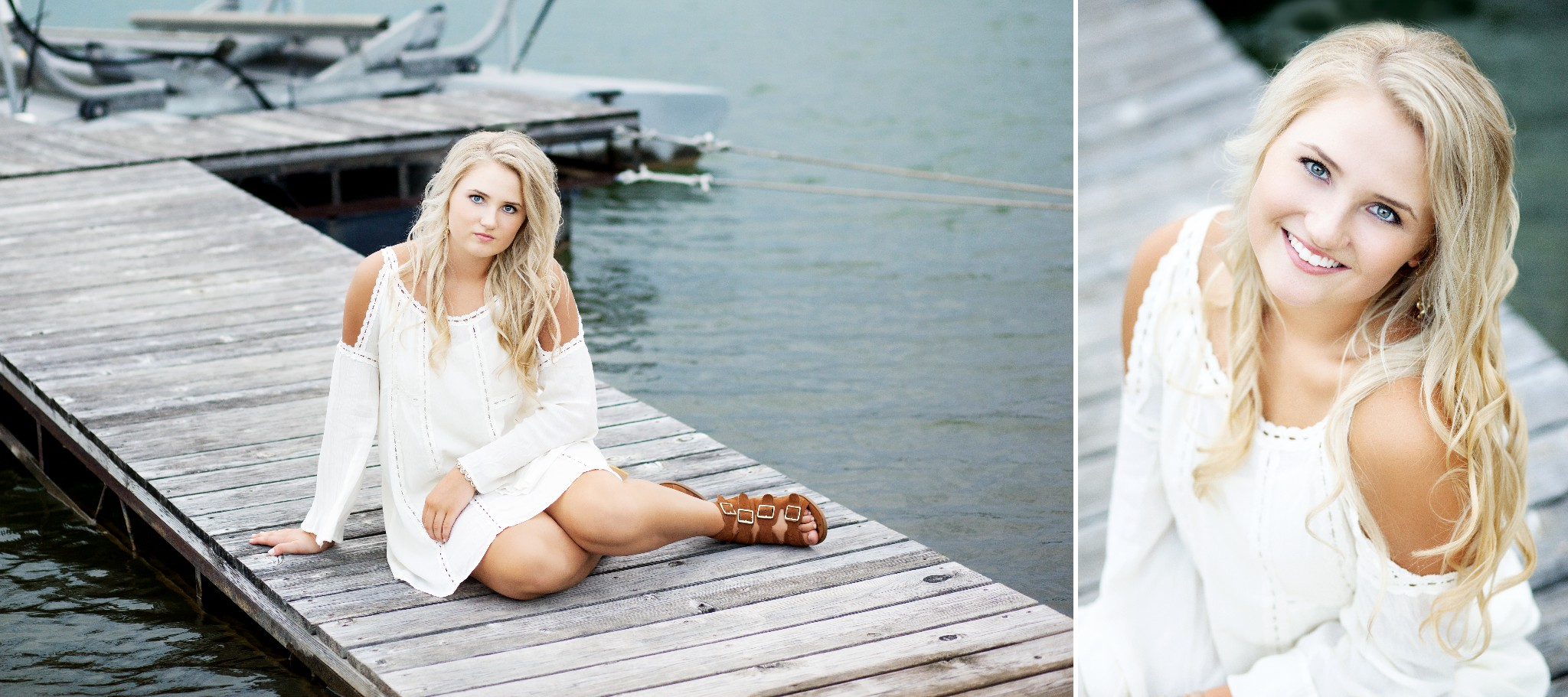 Water Senior Images by Katie Swatek Photography