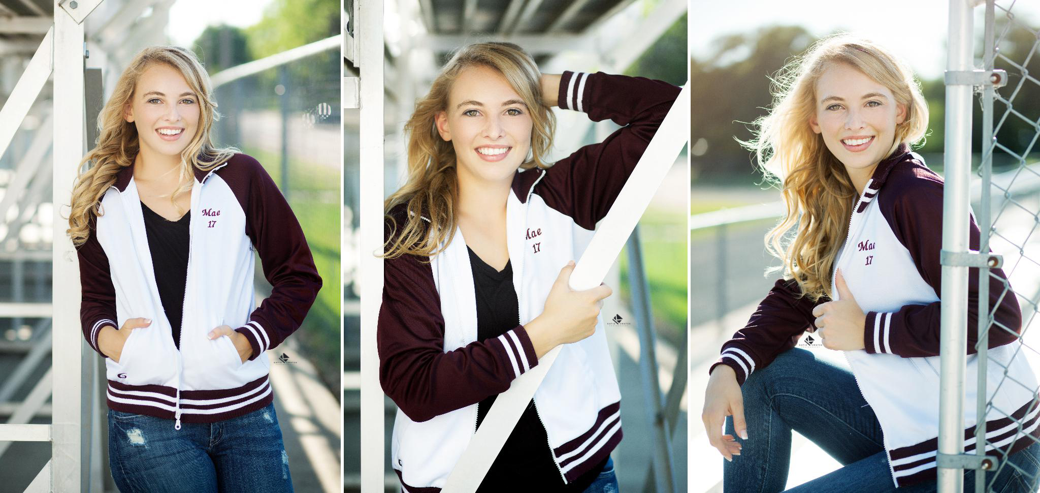 Cheerleading Senior Images by Katie Swatek Photography