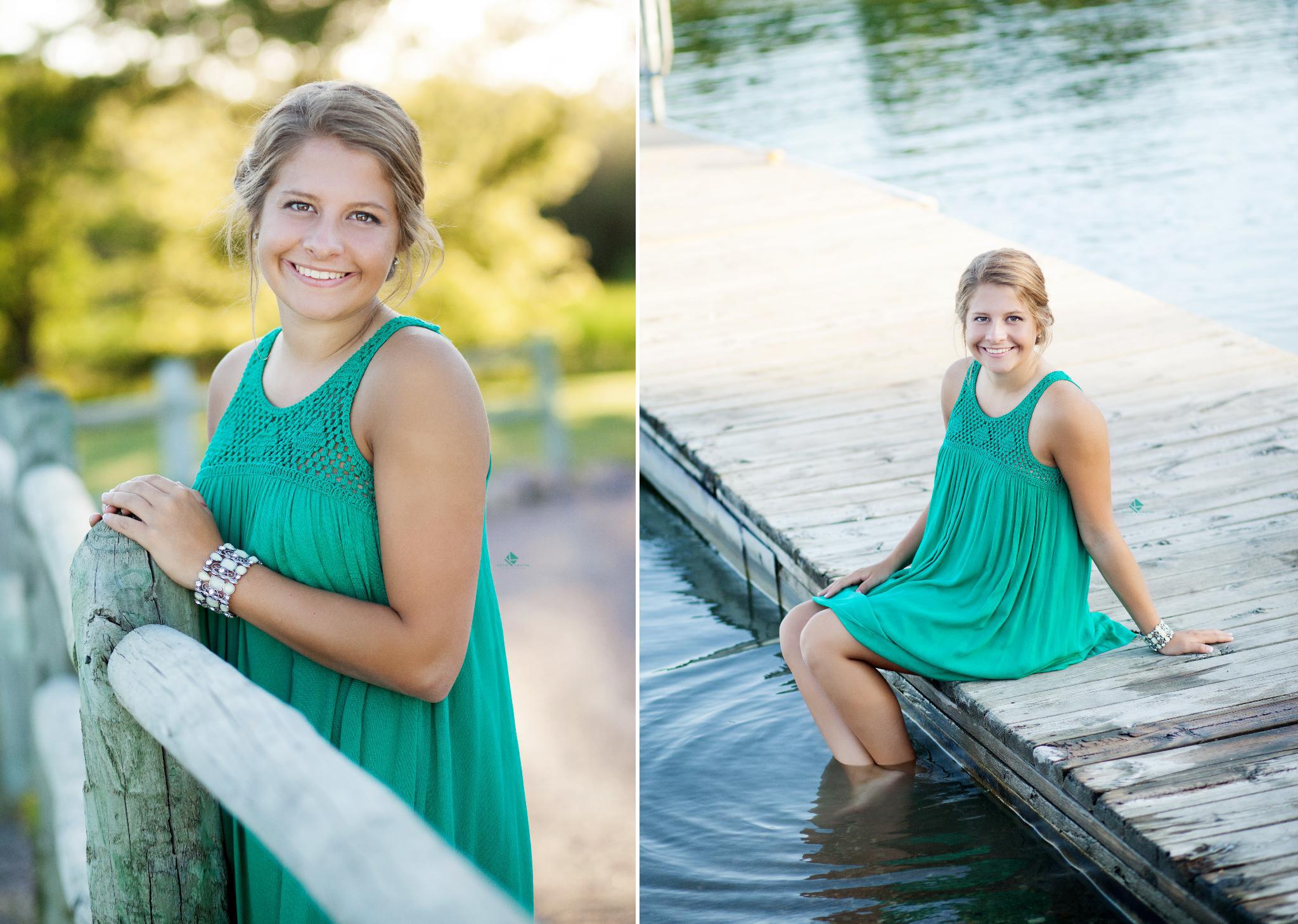 Country Senior Images by Katie Swatek Photography | Water Senior Images by Katie Swatek Photography
