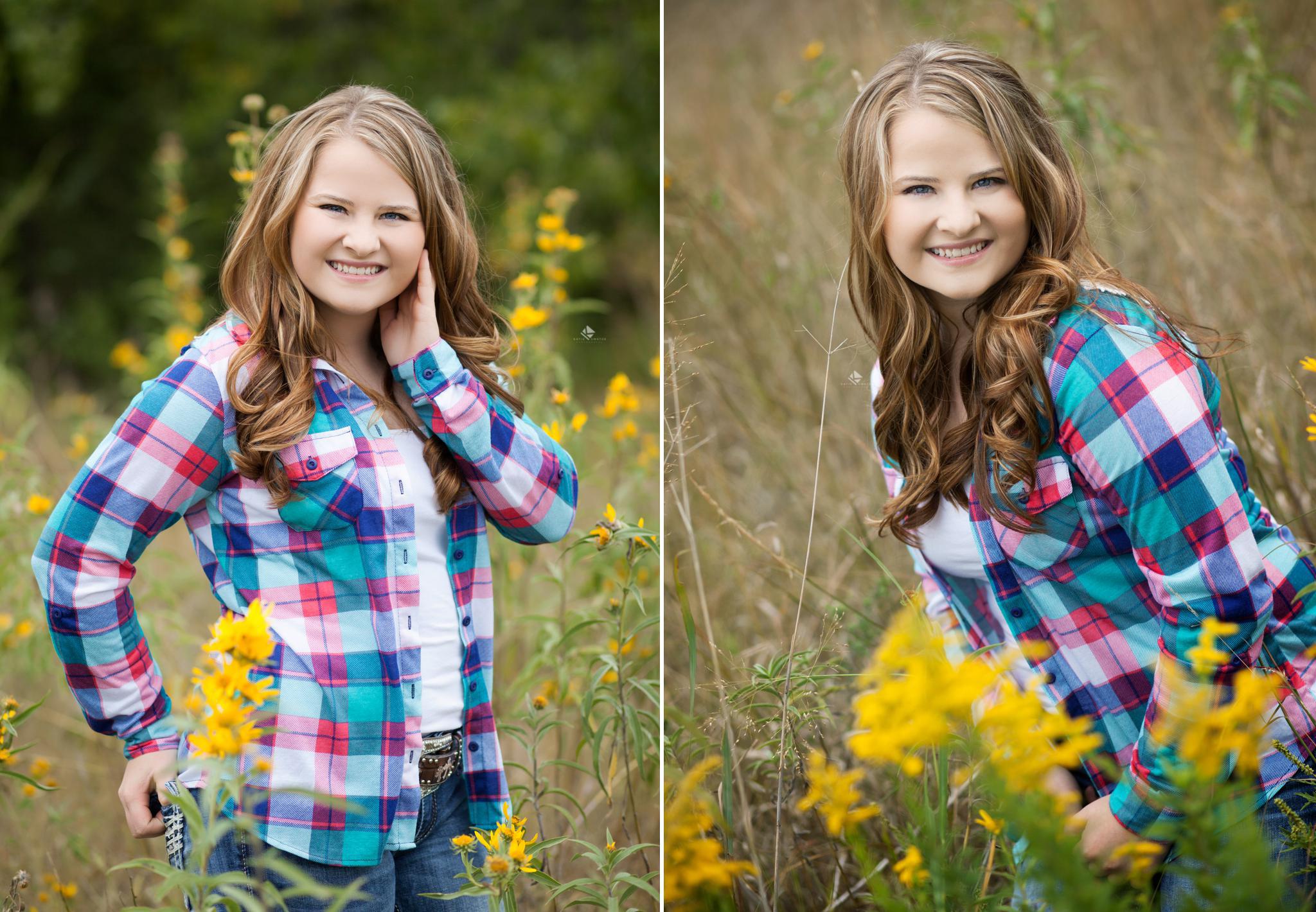 South Dakota Senior Pictures | Country Senior Pictures by Katie Swatek Photography | Fall Senior Pictures by Katie Swatek Photography