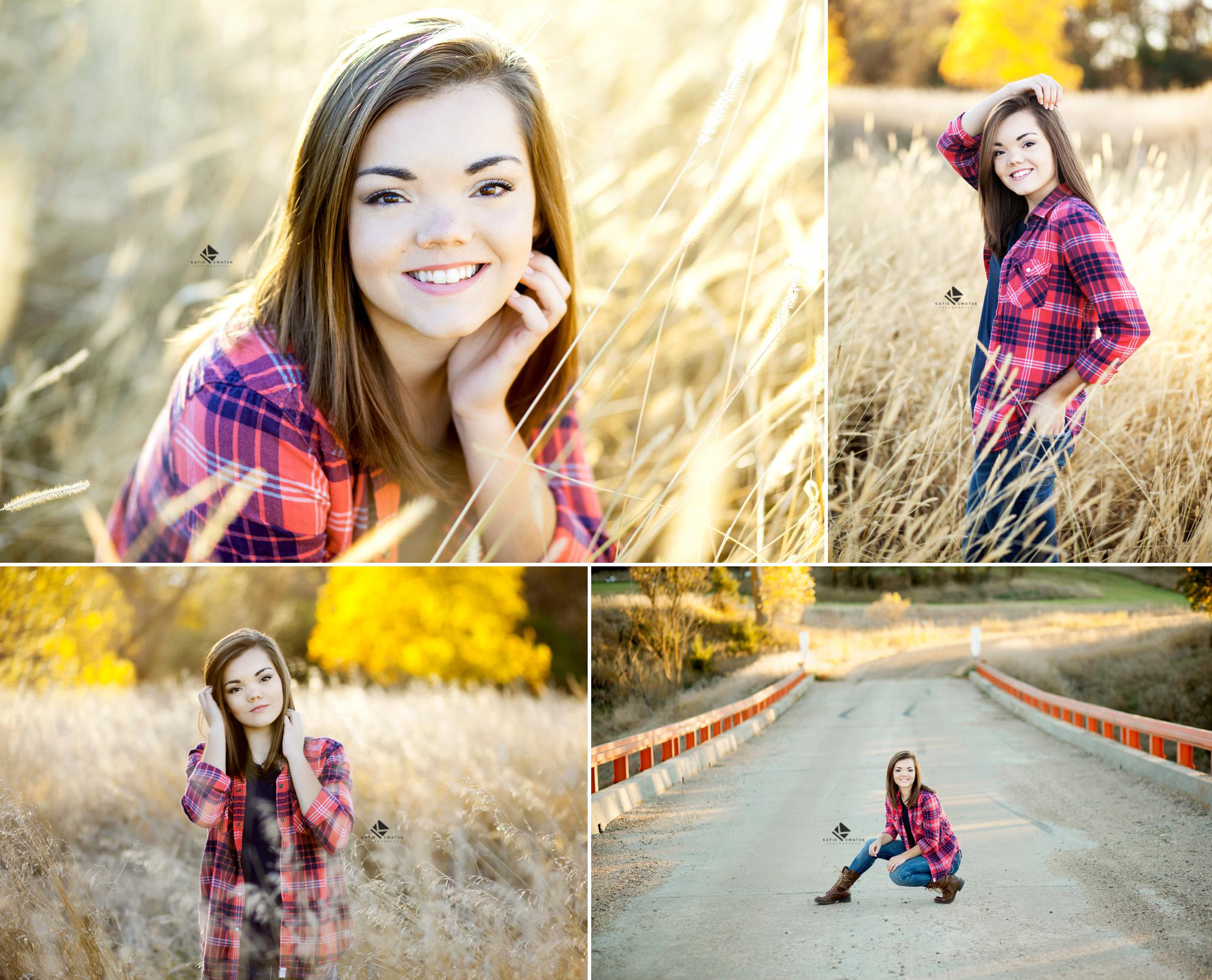 brunette senior girl from South Dakota taking senior pictures by South Dakota Senior Picture Photographer, Katie Swatek Photography