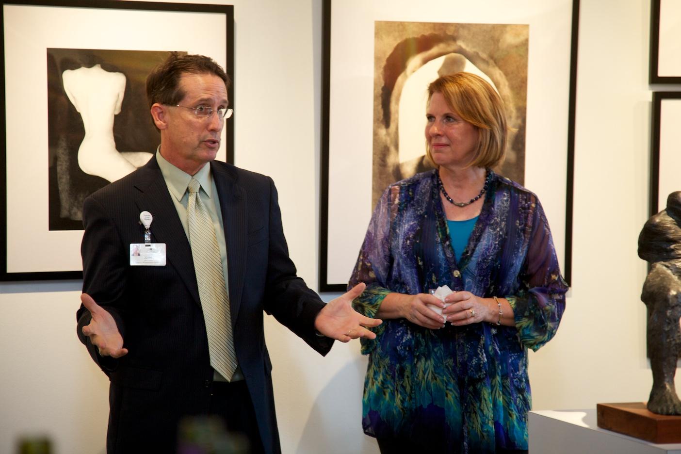 Mission Foundation Director of Philanthropic Initiatives, John Locke and Gallery President, Margaret Offermann