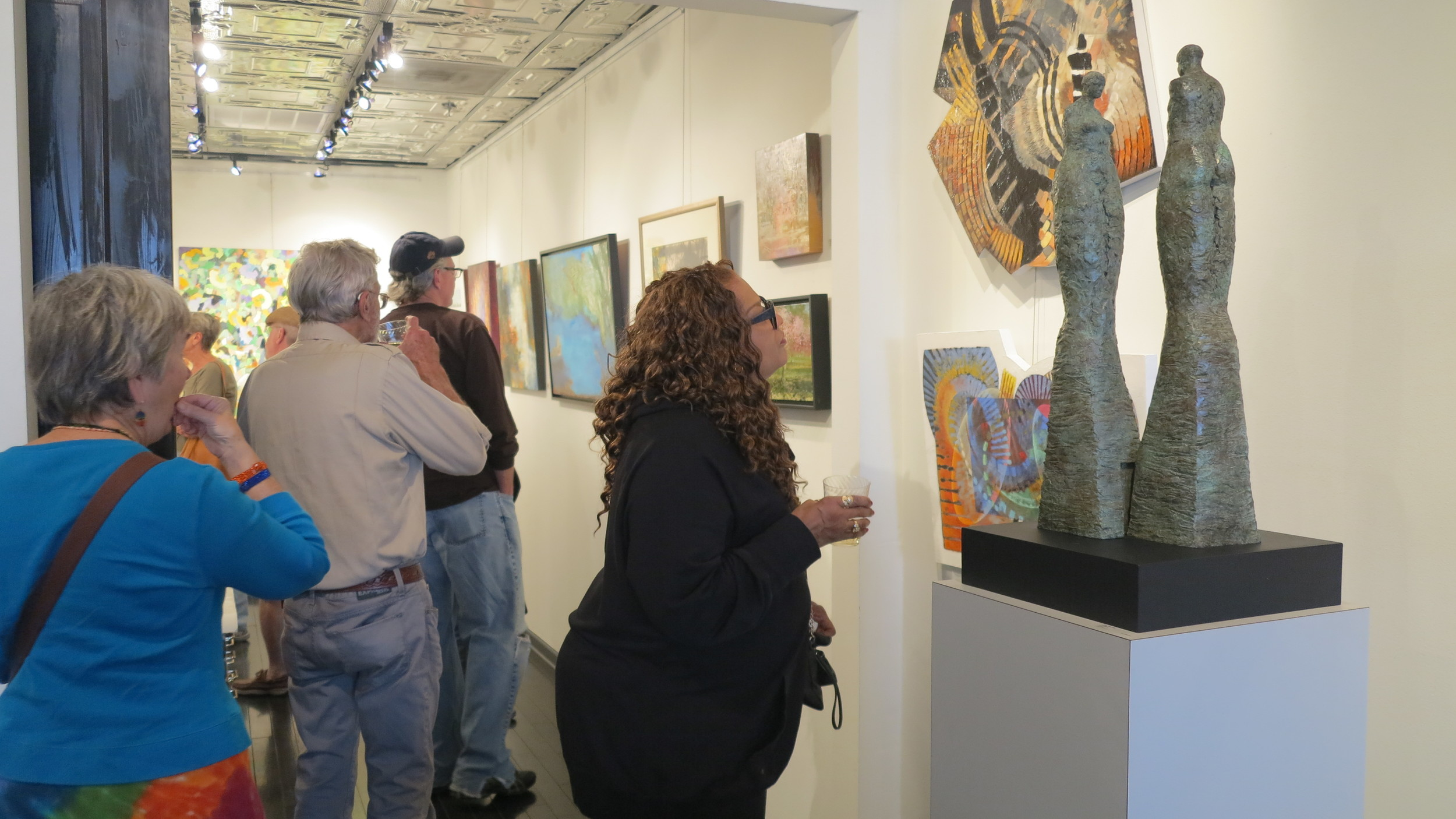 first friday art walk 4/3/2015