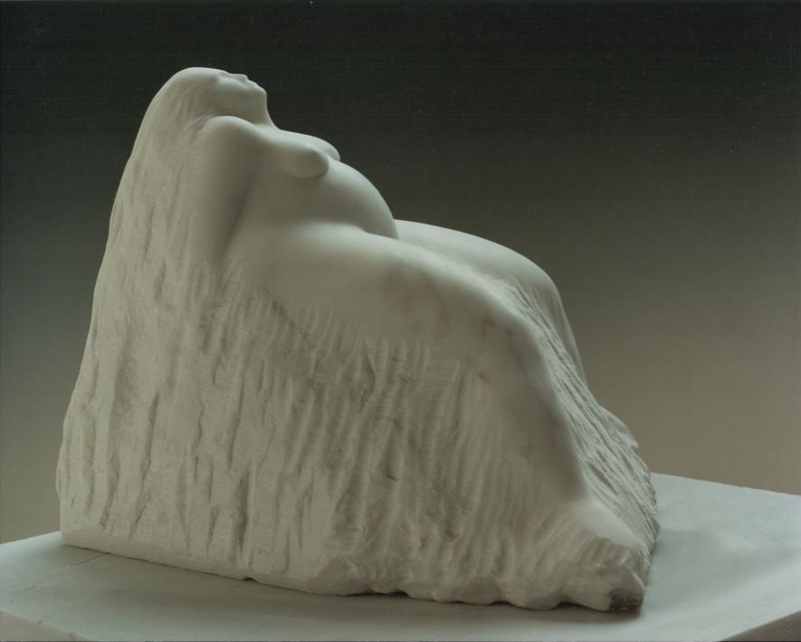 """Ashtoreth by Amy Medford , marble, 12""""h x 16"""" x 16""""w, $27,200"""