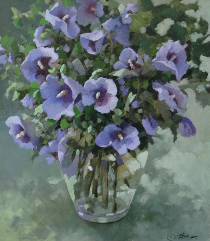 Rose of Sharon by  Karen Titus Smith