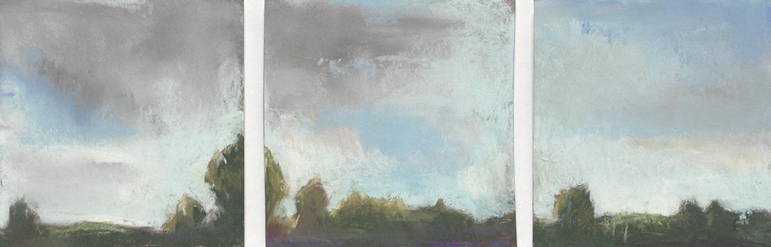 Cedar Bog, no. 2, Triptych