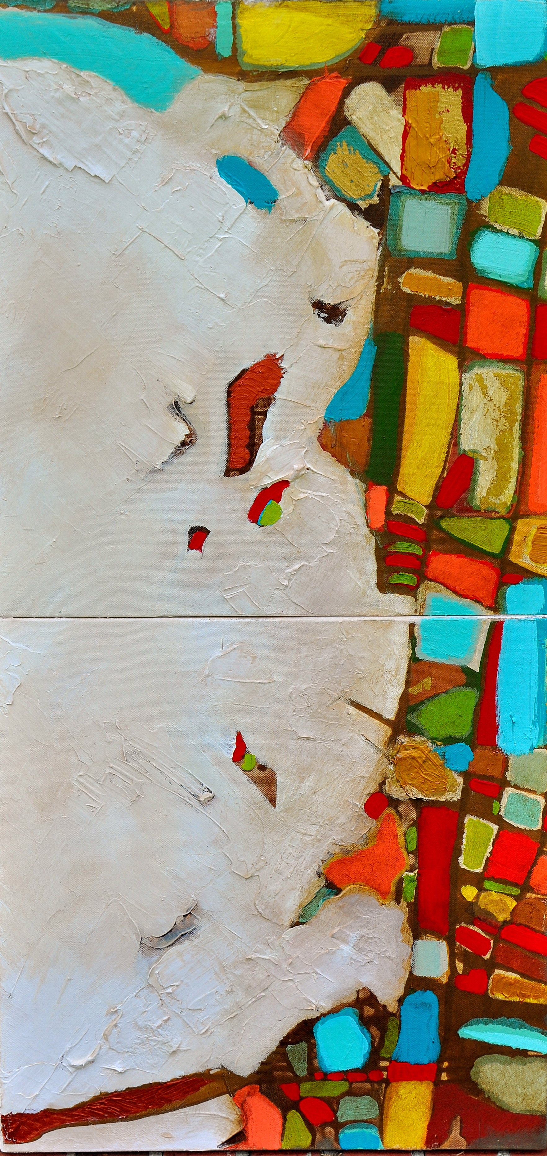 Earth Veins 6/7, Diptych