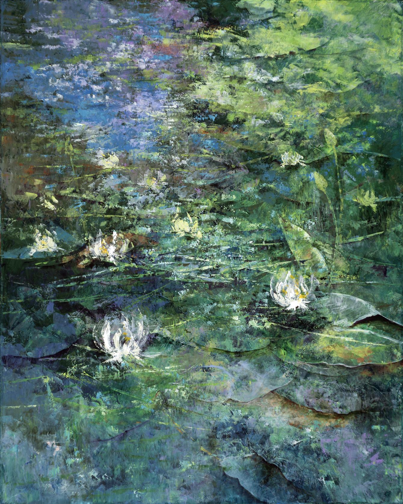 Iridescent Reflections 48 x 60