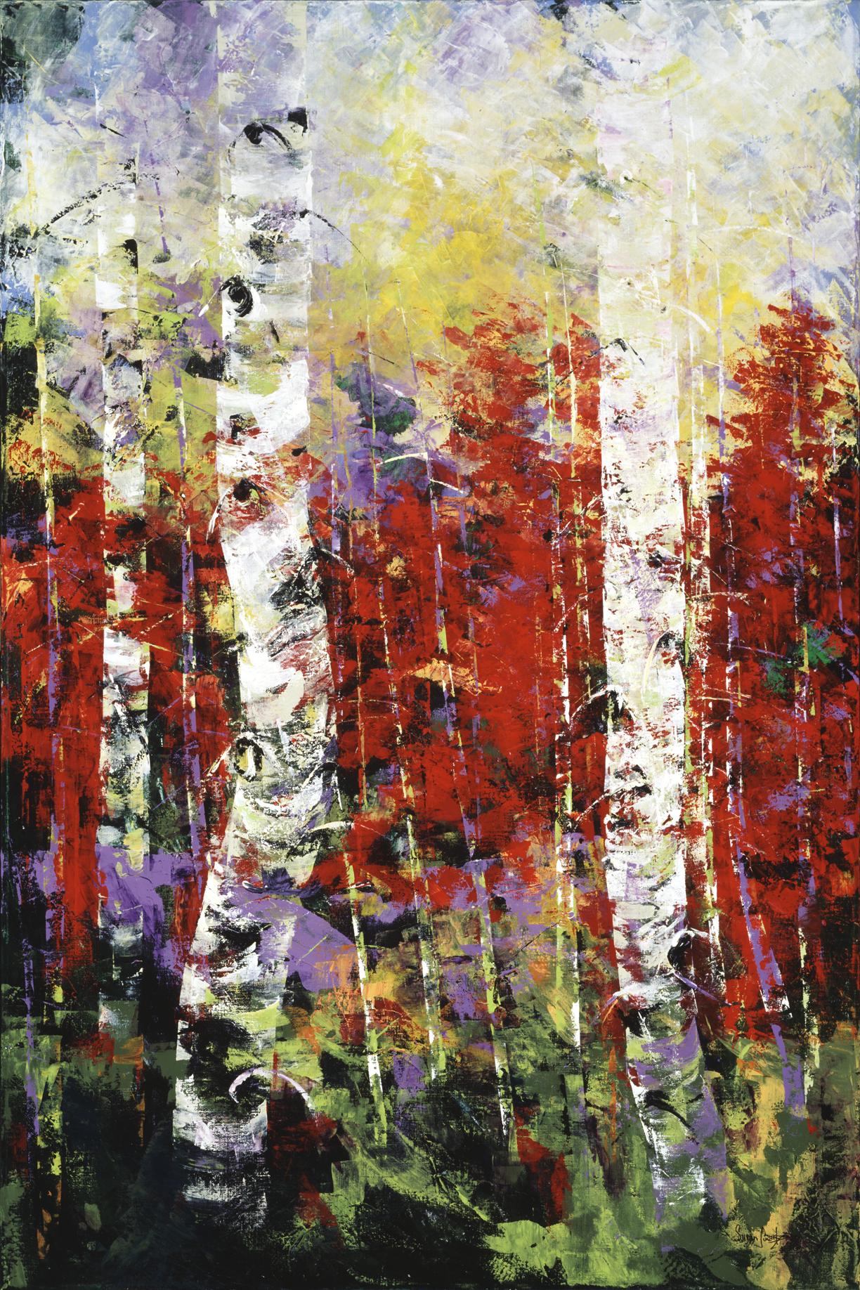 Autumn's Bounty I 48 x 72