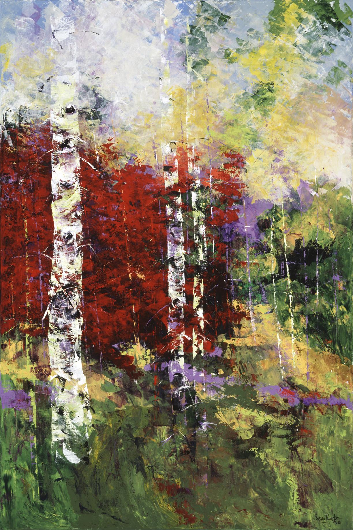Autumn's Bounty III 48 x 72