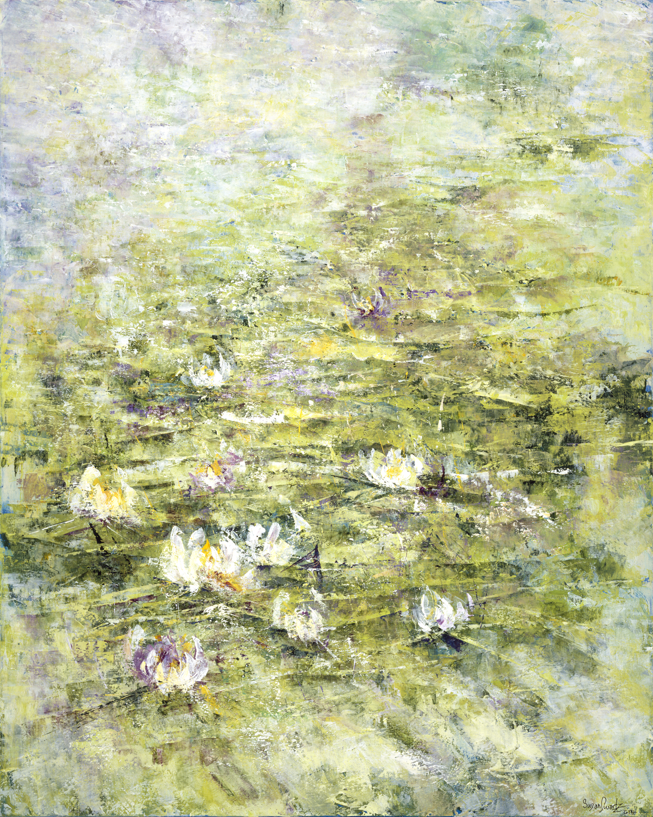 Lilies Unveiled 48 x 60