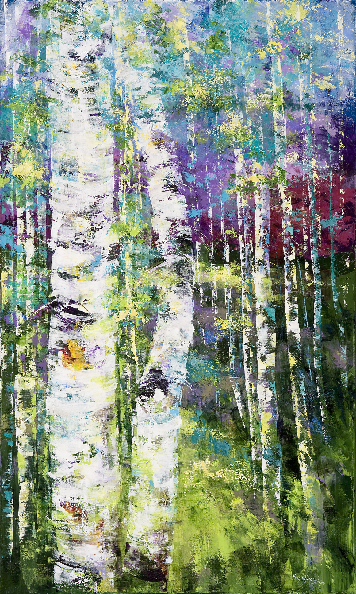 Prelude To Spring 36 x 60
