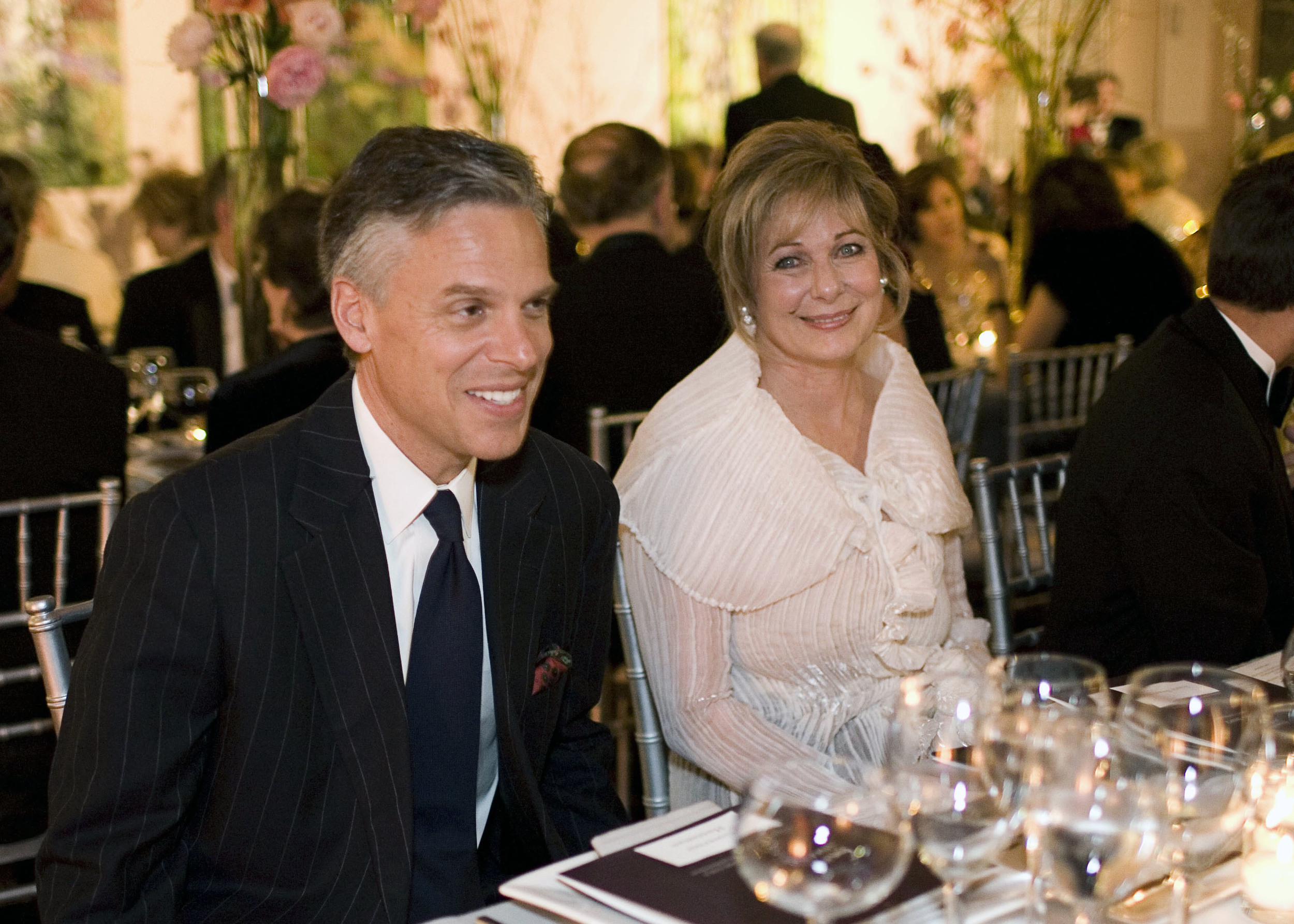 Susan and Gov. Jon Huntsman