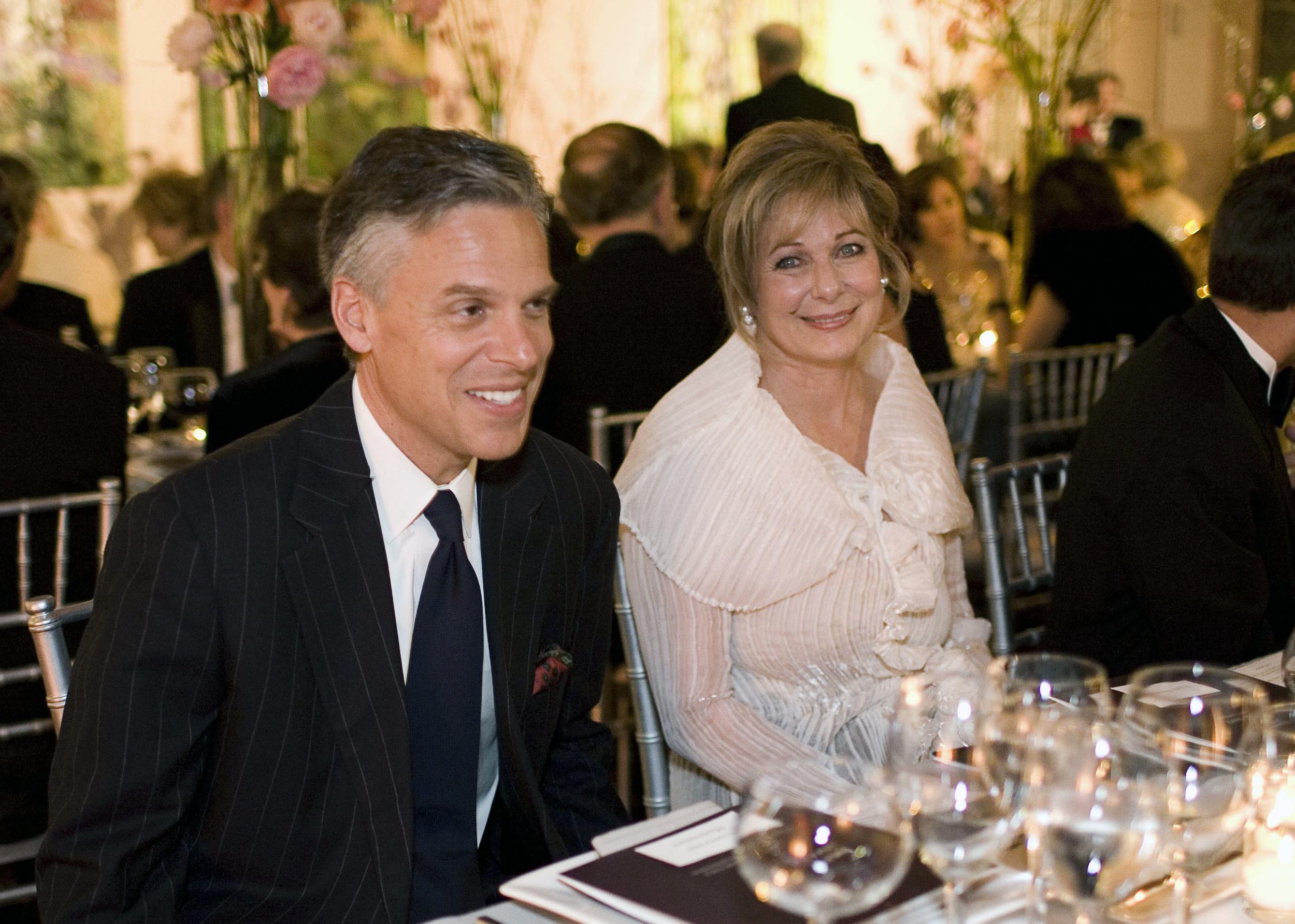 Susan and Gov. Jon Huntsman