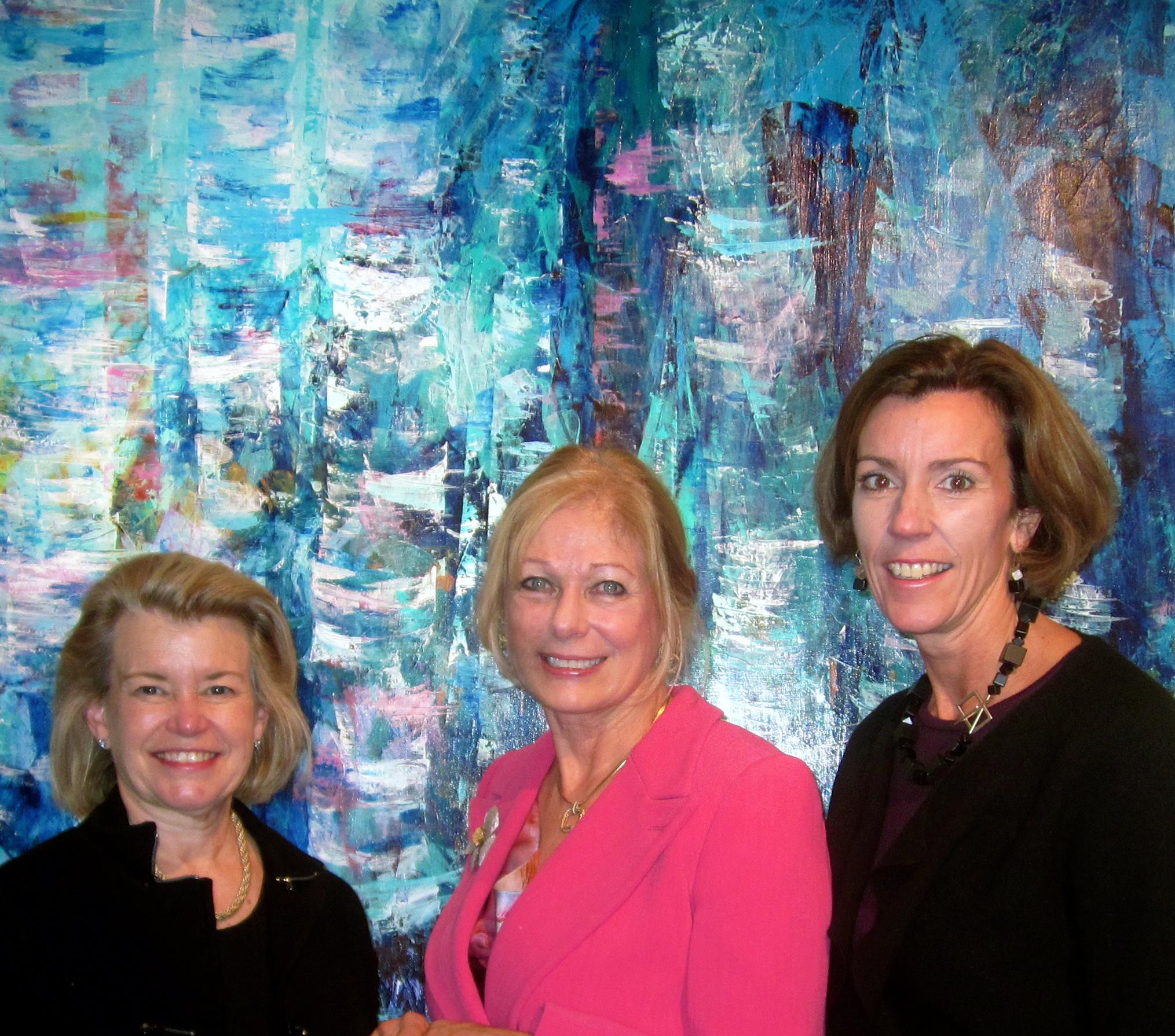 Patti White, Susan Swartz, Beth Colocci