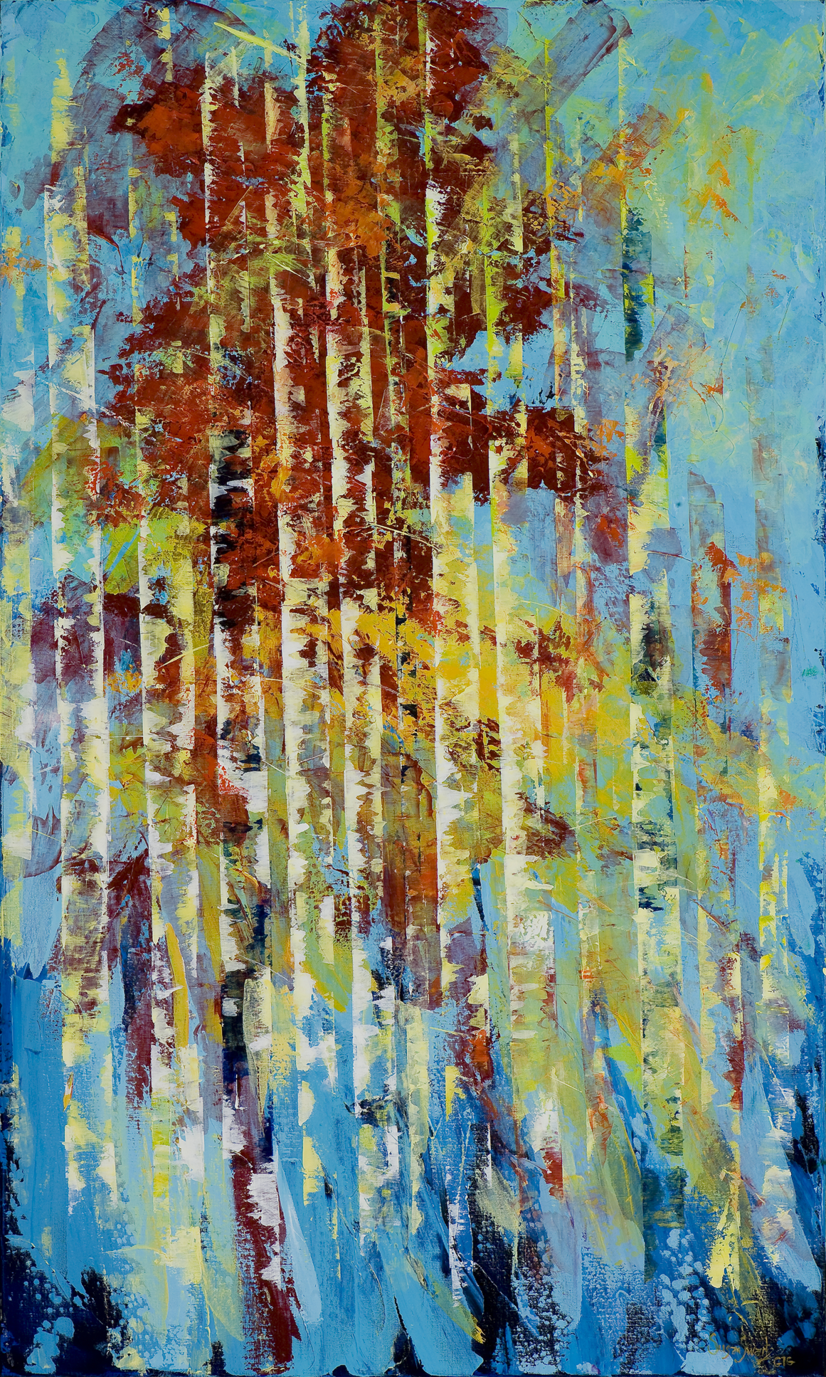 Rhapsody of Colors  36 x 60