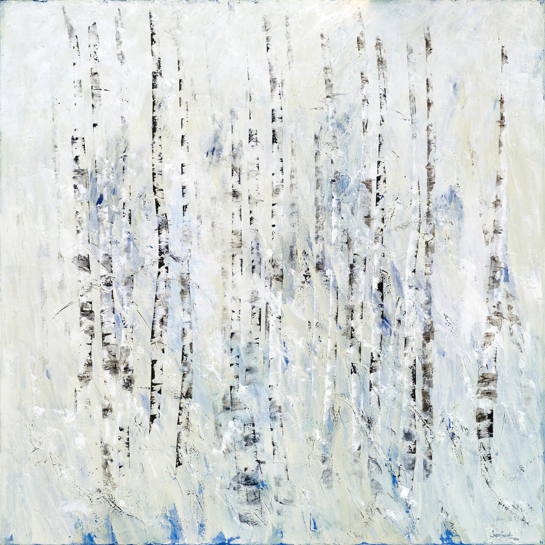 Winter's Hush I  60 x 60