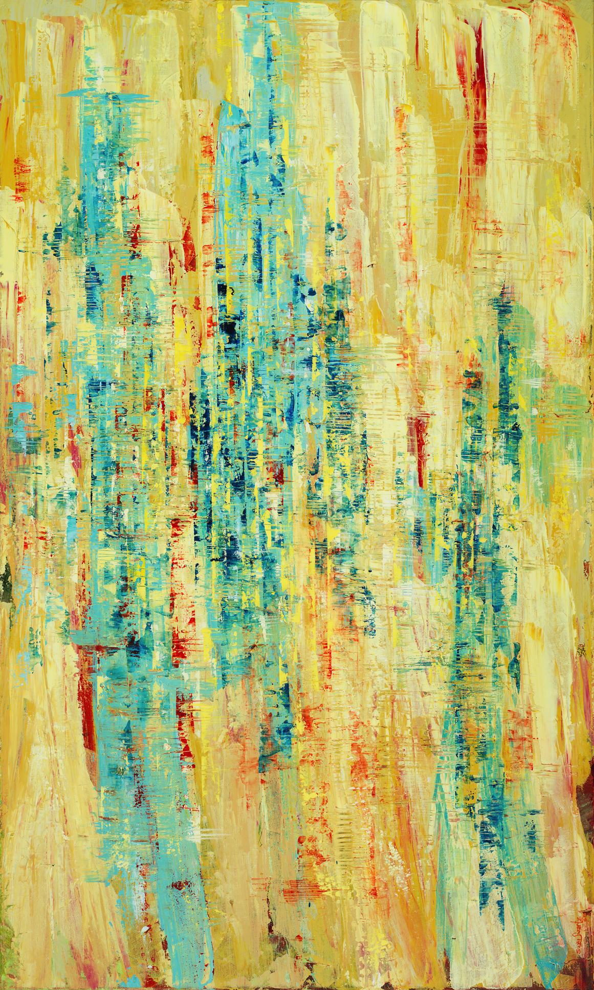 Landscape of Resonances 004  36 x 60