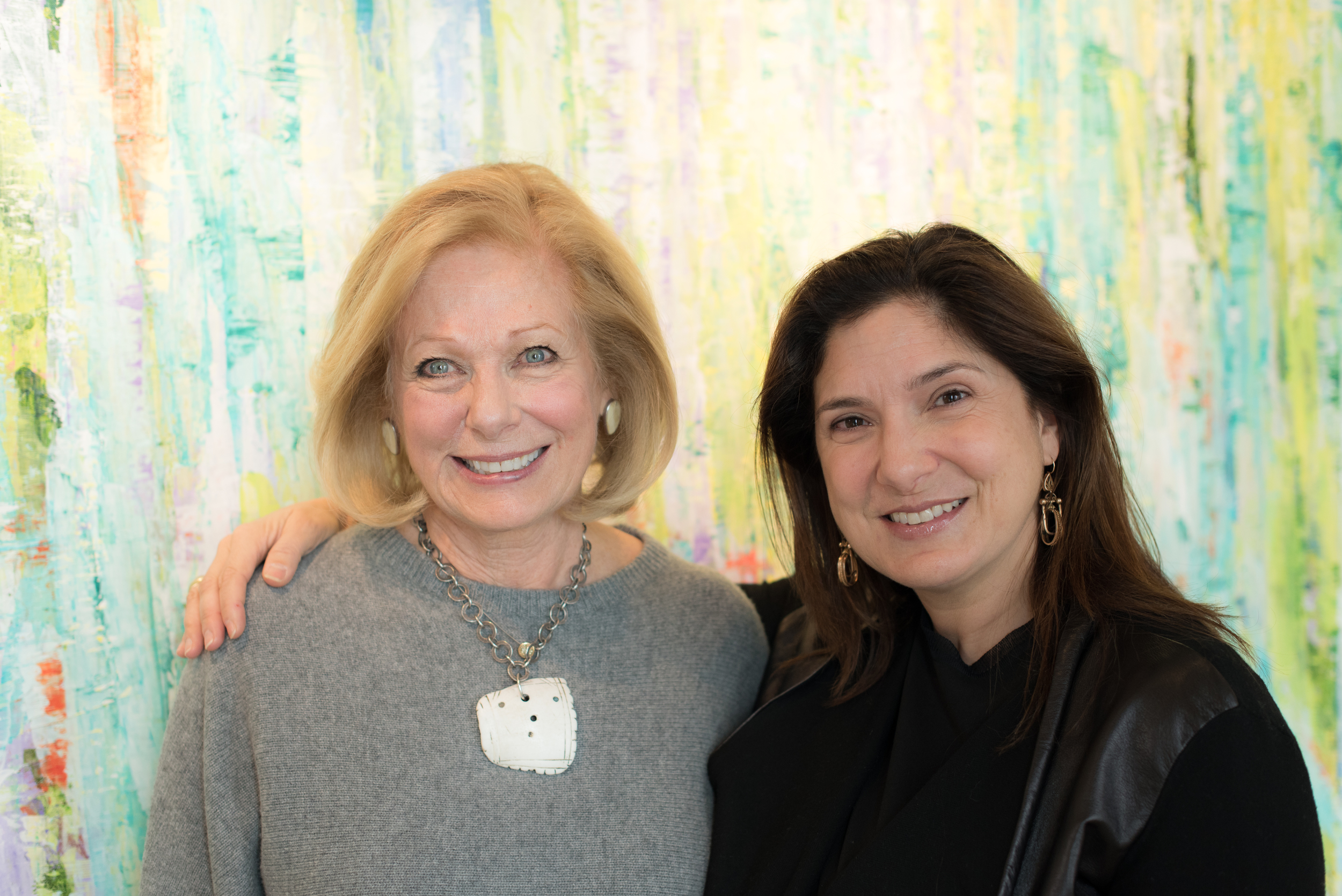 Susan with Regina Scully, Executive Producer of  The Hunting Ground