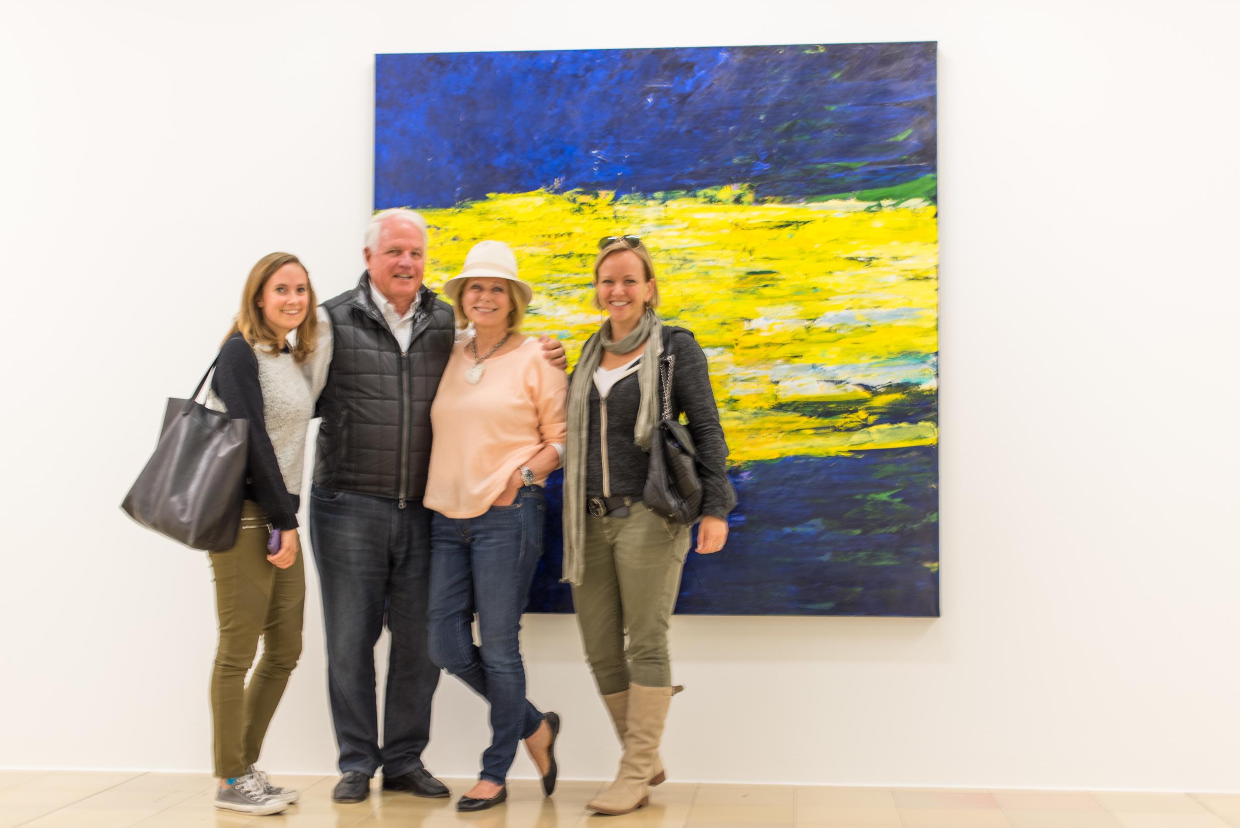 Amy Brownstein, Jim Swartz, Susan Swartz, and Robin Marrouche