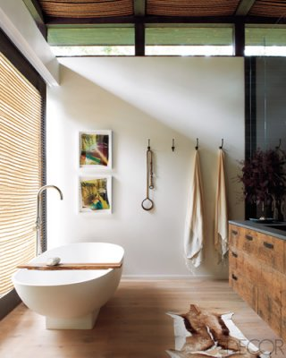 Click image to tour Athena Calderone's master bath. | Photographer / Jason Schmidt