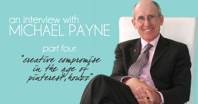 "An Interview w/Michael Payne, famed interior designer and original host of HGTV's ""Designing for the Sexes."" Hosted by: Carla Aston"