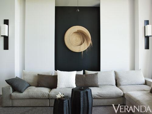 Decorating without pattern, Designer: Nancy Braithwaite Image Source: Veranda