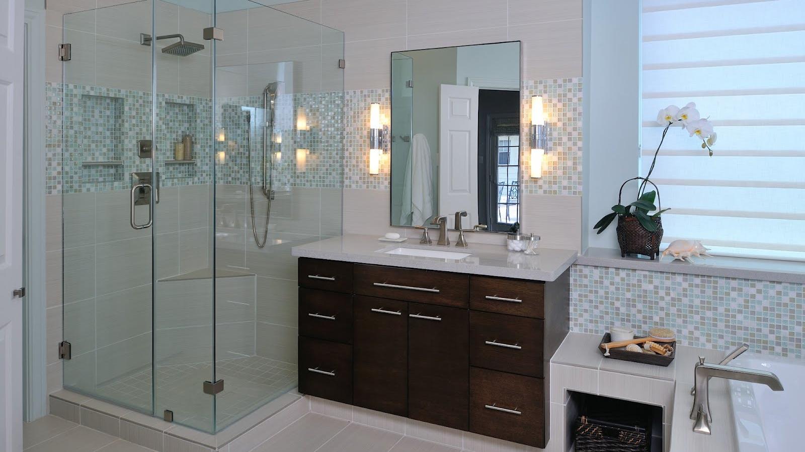 Interior Design Project Tour | A Matured Bath Is Modernized / DESIGNED by: Carla Aston