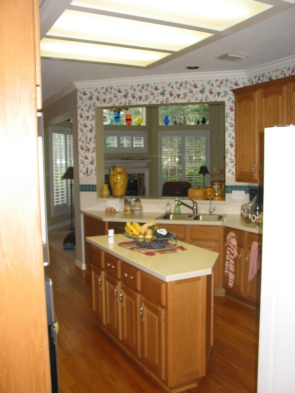 awesome shaped kitchen island | An oddly-shaped kitchen island | Why it's one of my ...