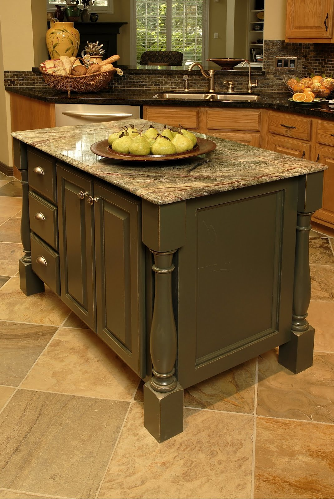 New kitchen island designed by   Carla Aston #kitchenisland #kitchenremodelingideas