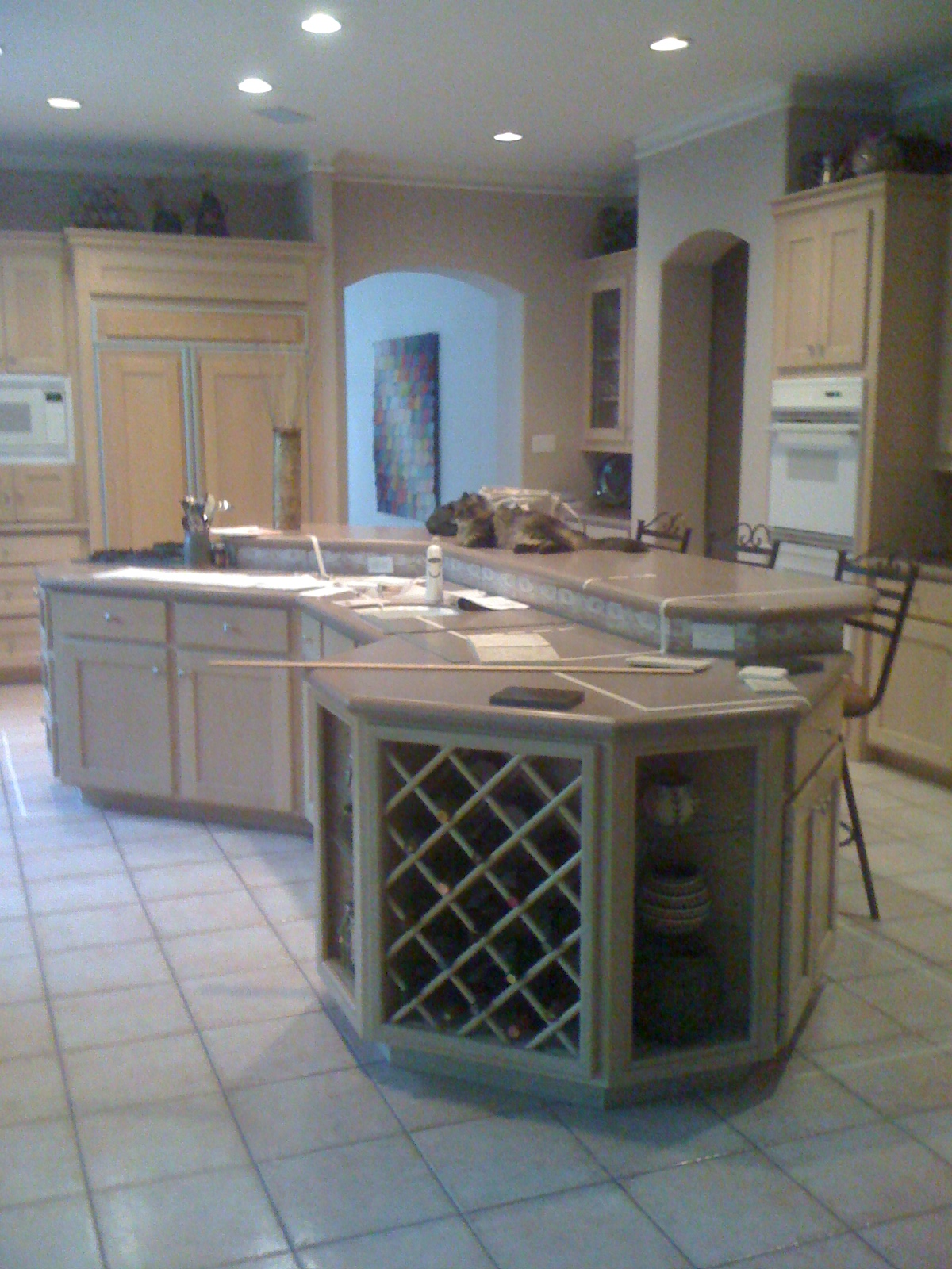 An oddly-shaped kitchen island | Why it\'s one of my BIGGEST ...